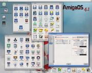 AmigaOS 4.1 screenshotok