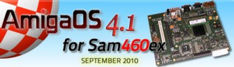 AmigaOS 4.1 Sam 460ex-re!
