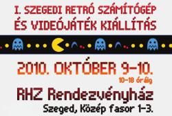 Retro számítógép és videojáték kiállítás Szegeden