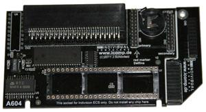 Új Amiga 600-as ChipRAM bővítő!