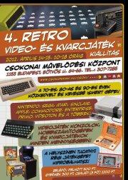 4. Retro video- és kvarcjáték kiállítás