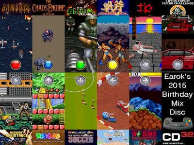 Amiga CD32 - Special: Earok's 2015 Birthday Mix Disc